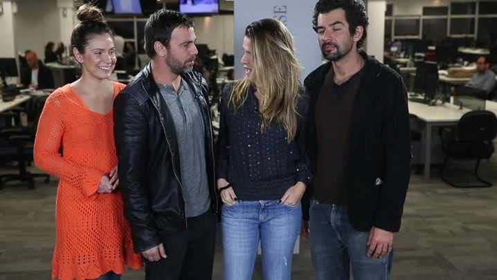 """Atores da Globo convidam para a peça \""""Razões Para Ser Bonita\"""""""