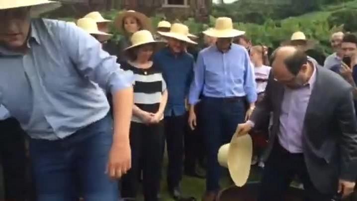 Governador Sartori abre a safra da uva em Bento Gonçalves