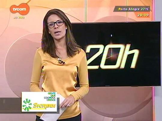 TVCOM 20 Horas - Obras de melhorias do Aeroporto Salgado Filho são mantidas, com exceção da ampliação da pista - 16/01/15