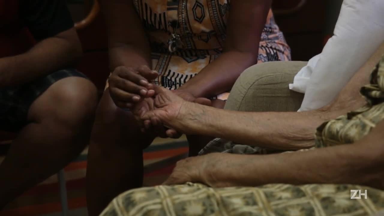 Amor pela matriarca de 107 anos