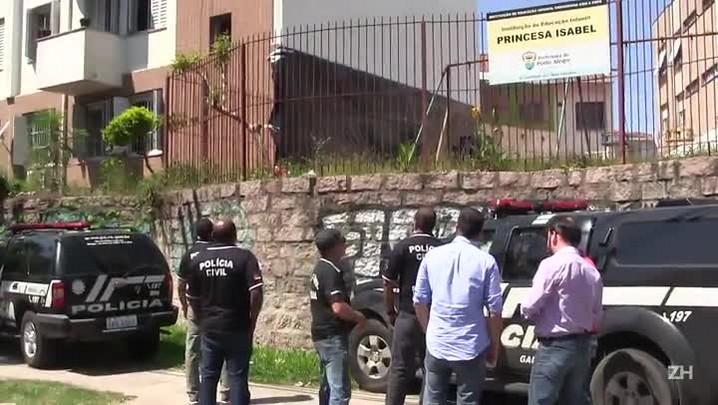 Homenagem a traficante em condomínio de Porto Alegre começa a ser coberta