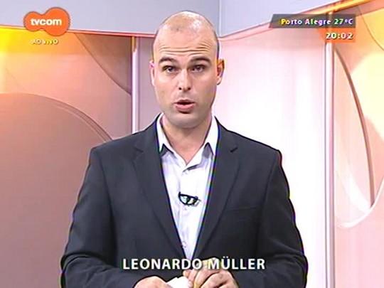 TVCOM 20 Horas - Obras da Copa não devem ser entregues até o final do mandato de Fortunati - 25/03/2015