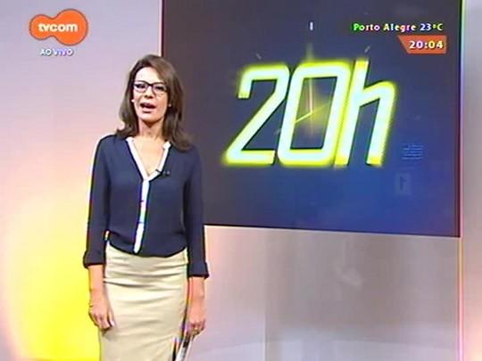 TVCOM 20 Horas - Usuários de transporte público enfrentaram problemas de circulação no dia de paralisação nacional - 15/04/2015