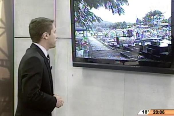 TVCOM 20 Horas - Vaga em cemitério público pode valer R$ 12 mil na venda paralela em SC - 06.07.15