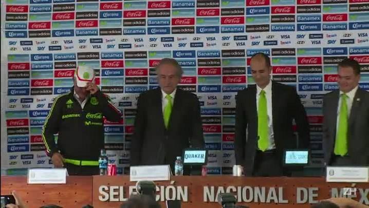 Brasileiro assume comando da seleção mexicana
