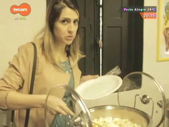 #PortoA - 'Guia de Sobrevivência Gastronômica de Porto Alegre' experimenta o almoço da Pinacoteca