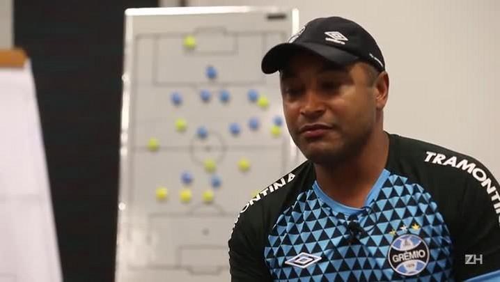 Roger Machado fala sobre renovação de contrato com o Grêmio