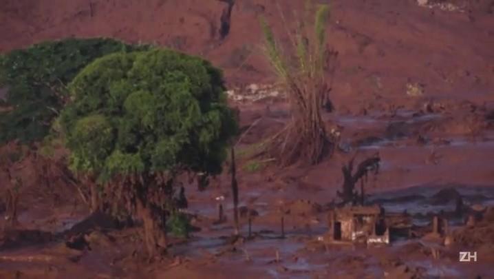 Distrito mineiro devastado por deslizamentos