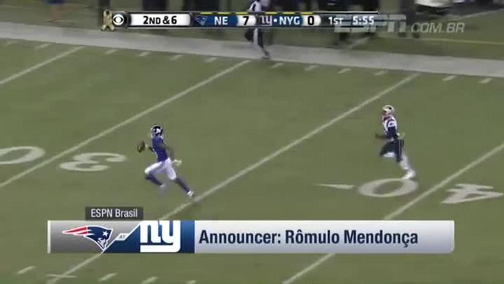 Giants empatam em linda jogada de Odell Beckham - Brazilian Highlight - NFL