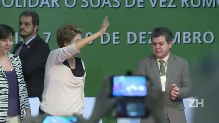 Rousseff recebe críticas de vice-presidente