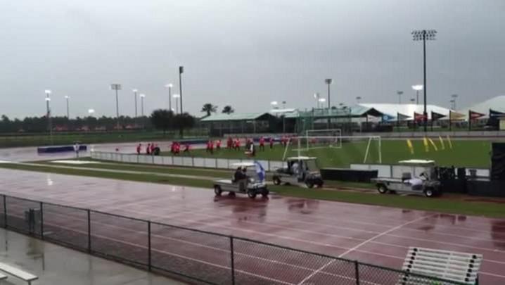 Inter treina na Flórida antes de jogo contra o Fluminense