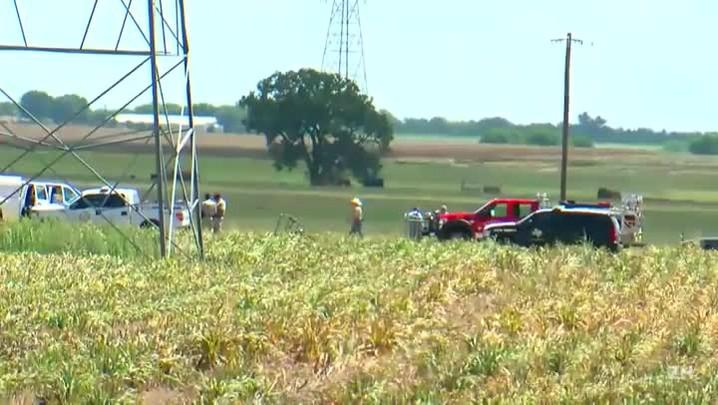 Balão cai no Texas com 16 pessoas