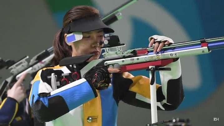 Primeiro ouro da Olimpíada sai no tiro com carabina