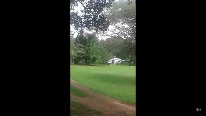 Criminosos roubam helicóptero de empresa de táxi aéreo