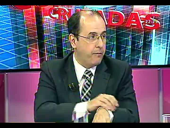 Conversas Cruzadas - Aplicação de verbas do orçamento para a segurança pública - Bloco 2 - 07/02/2013