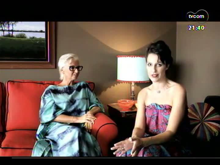 TVCOM Tudo Mais - Moda: Patrícia Parenza conversa com uma artista plástica