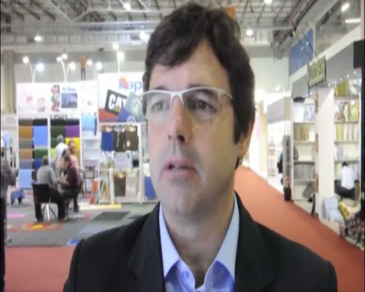 Palestrante Marcelo Prado fala sobre os avanços da indústria têxtil