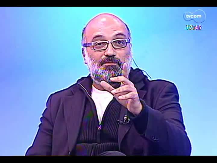 Programa do Roger - Diretor uruguaio César Charlone fala sobre o filme \'Artigas, la redota\' - bloco 1 - 17/05/2013