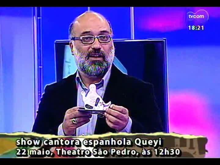 Programa do Roger - Cantora espanhola Queyi fala sobre apresentação em Porto Alegre - bloco 4 - 21/05/2013