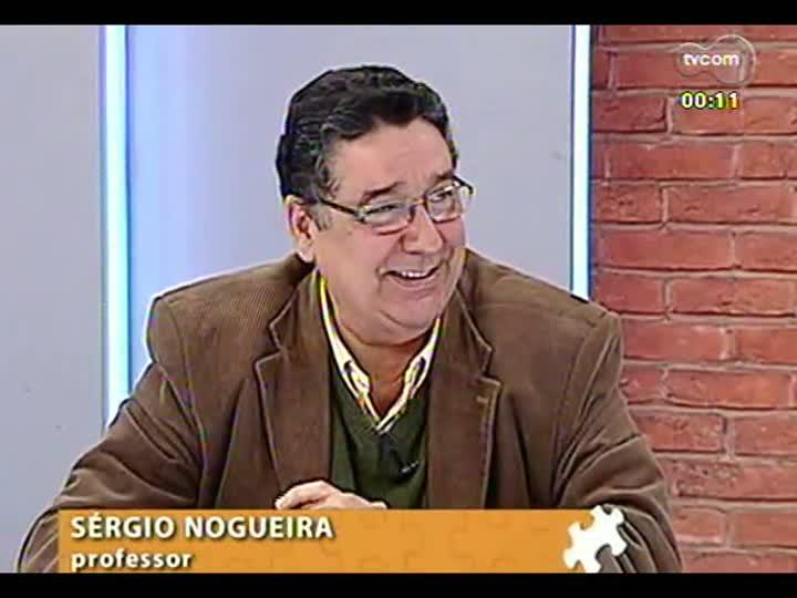 Mãos e Mentes - Consultor de Língua Portuguesa de todo o Sistema Globo de Comunicação, professor Sérgio Nogueira - Bloco 4 - 14/06/2013
