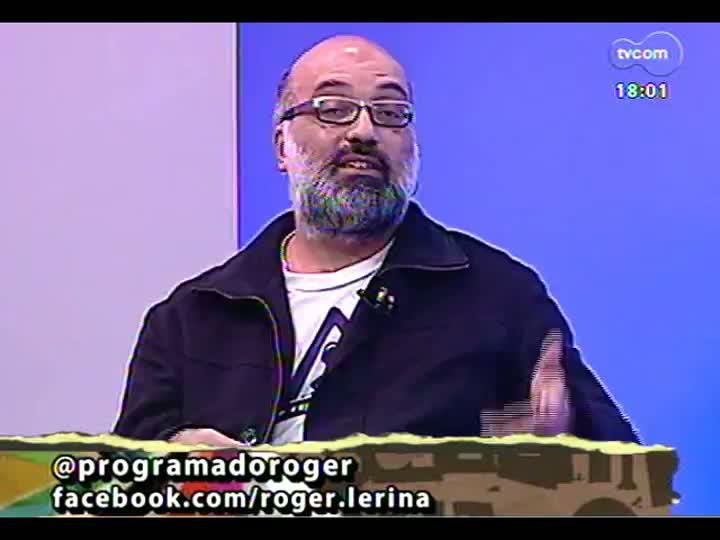 Programa do Roger - Diretor Daniel Colin e autora Lolita Goldschmidt falam sobre peço \'A menina do cabelo vermelho\' - bloco 2 - 14/06/2013