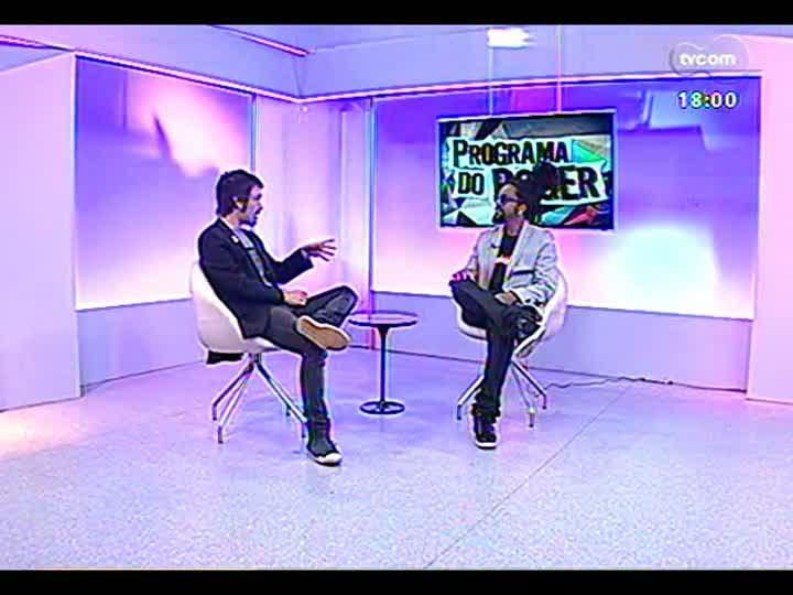 Programa do Roger - Músico Rael fala sobre show no Opinião - bloco 2 - 01/08/2013