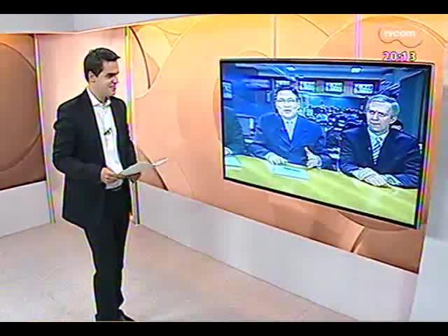 TVCOM 20 Horas - Delegado fala sobre a quadrilha que furtou um banco sem violência, em Santa Maria - Bloco 2 - 05/09/2013