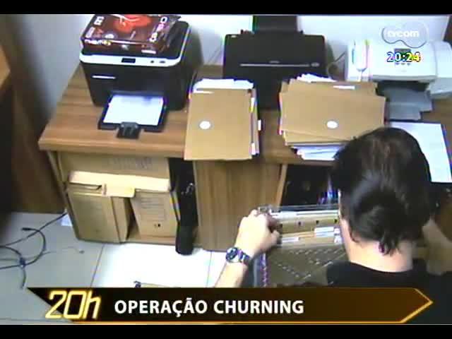 TVCOM 20 Horas - Operação Churning: Polícia Federal investiga fraudes no mercado de ações - Bloco 3 - 10/09/2013
