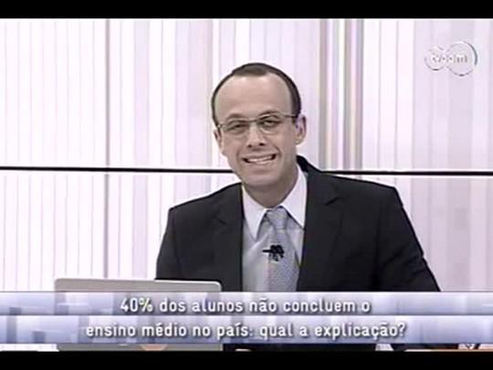 Conversas Cruzadas - Evasão escolar - 2o bloco - 27/11/2013