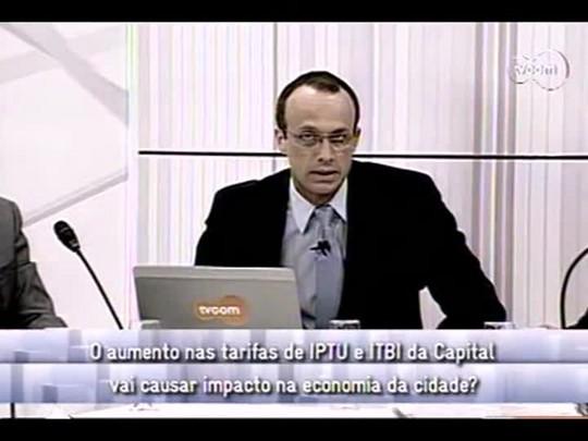 Conversas Cruzadas - 3o bloco - IPTU e ITBI - 4/12/2013