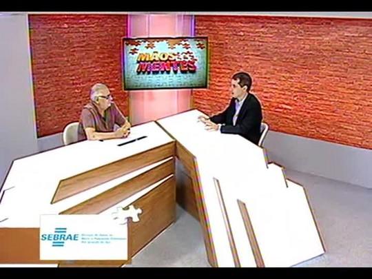 Mãos e Mentes - Secretário executivo da Agência Brasileira Antidoping Eduardo de Rose - Bloco 4 - 08/01/2014