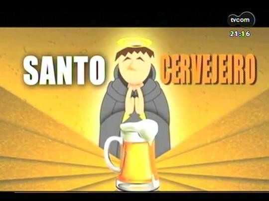 TVCOM Tudo Mais - \'Santo Cervejeiro\': o resultado da soma de duas paixões - cerveja e futebol