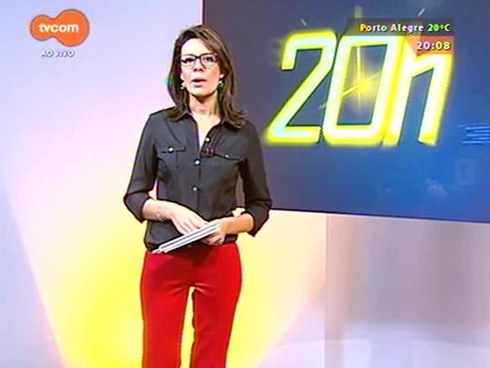 TVCOM 20 Horas - Cpers diz que entrará em greve caso não seja negociado o pagamento do piso do magistério - 24/04/2015