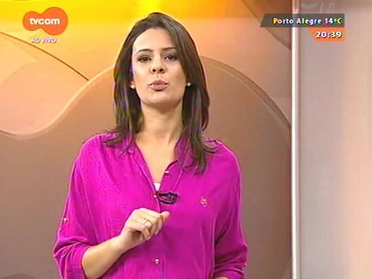TVCOM 20 Horas - Alojamento da capital que recebe imigrantes está quase lotado - 01/07/2015