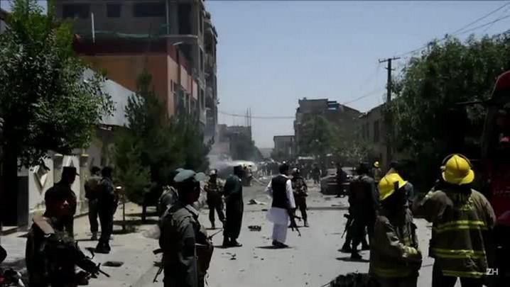 Atentado contra as tropas da Otan em Cabul
