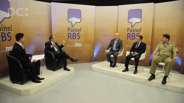 Painel RBS debate a segurança em Santa Catarina