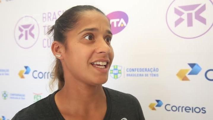 Teliana Pereira comenta semelhança entre WTA em Floripa e Olimpíadas no Rio