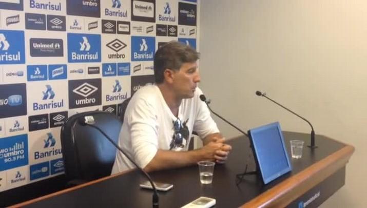 Renato fala de permanência no Grêmio