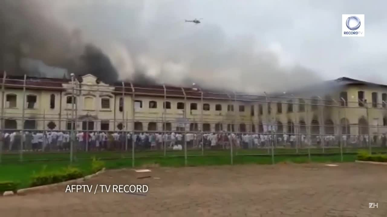 Polícia recaptura detentos que fugiram de penitenciária