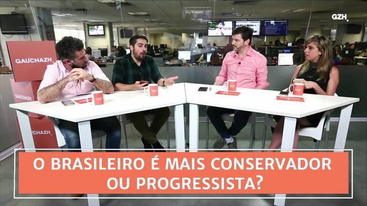 Conexão GaúchaZH: o brasileiro é conservador ou progressista?