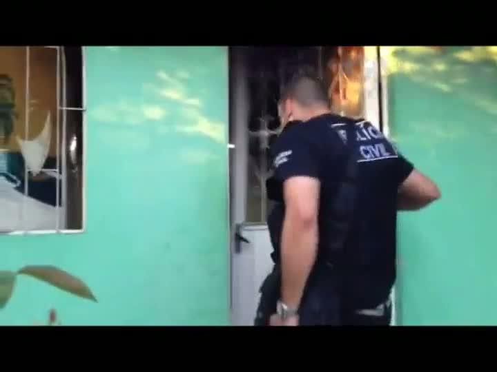 Vídeo revela bastidores de operação contra tráfico em Charqueadas