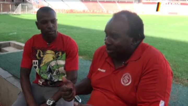 Encontro de craques: Caçapava e Sandro Silva