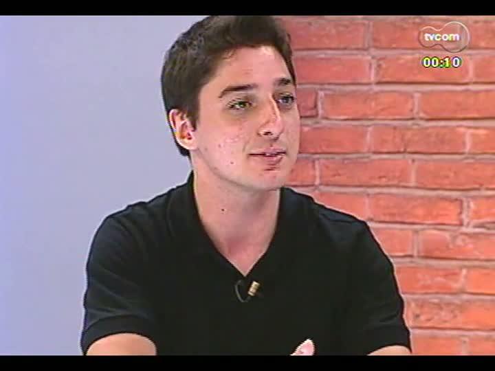 Mãos e Mentes - Cofundador da Entregas.me, Alexandre Ferrari - Bloco 4 - 31/01/2013