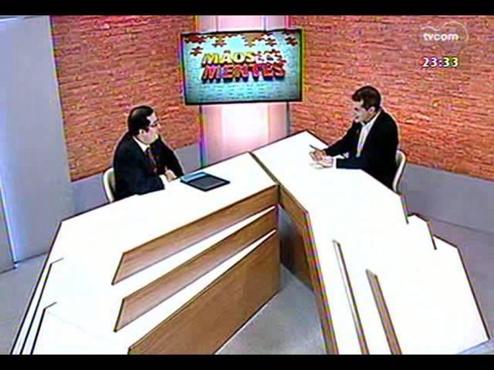 Mãos e Mentes - Professor e tradutor de TI Carlos Fernando Paleo Rocha - Bloco 1 - 11/03/2013