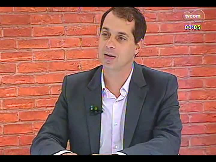 Mãos e Mentes - Vencedor do Prêmio Moacyr Scliar de Literatura 2013, professor Altair Martins - Bloco 4 - 19/04/2013