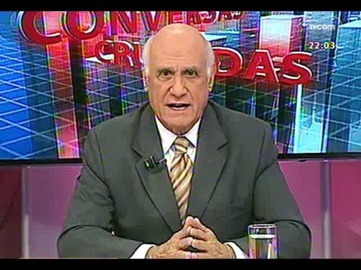 Conversas Cruzadas - Debate sobre o déficit de vagas no semiaberto que traz como alternativa o sistema de prisão domiciliar - Bloco 1 - 27/05/2013