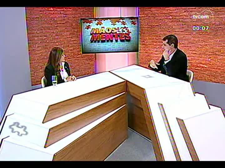 Mãos e Mentes - Presidente da Fundação Thiago de Moraes Gonzaga, Diza Gonzaga - Bloco 4 - 31/05/2013