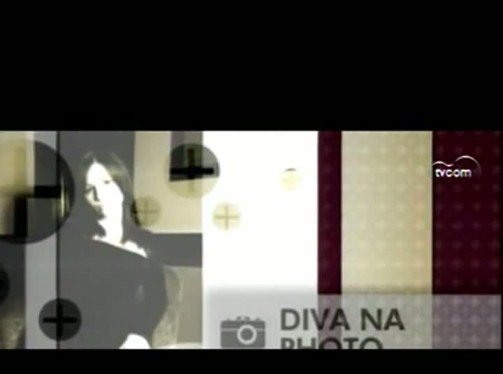 TVCOM Tudo Mais - Diva na Photo - 3º Bloco - 13-08-2013