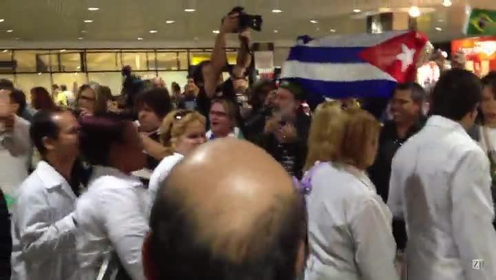 Mais médicos cubanos chegam ao estado