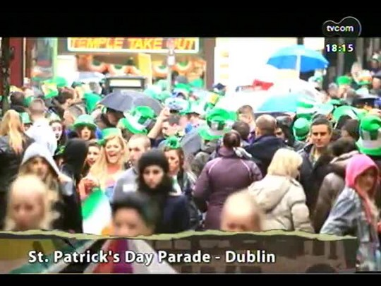 Programa do Roger - St. patrick\'s Day Parade, Dublin + Banda Lugh - Bloco 4 - 18/03/2014